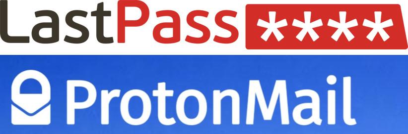 LastPass ProtonMail