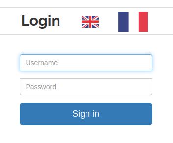 user auth