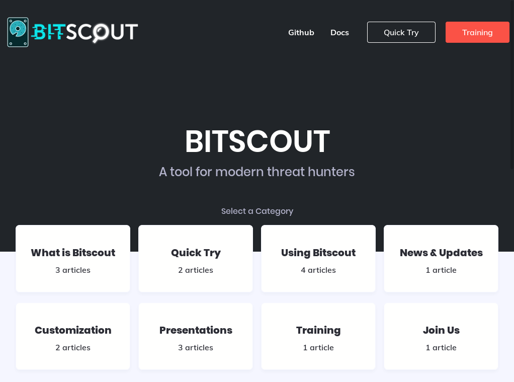 bitscout forensics website