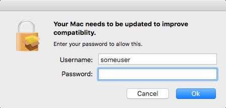 mm install macos password phishing