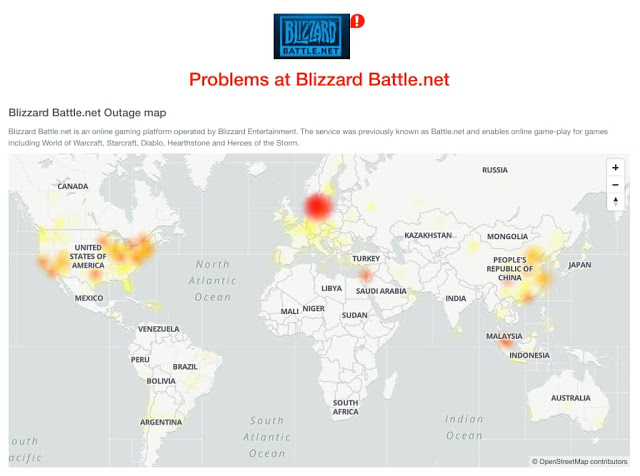 blizzard suffers massive ddos attack ea sports also suffering outage 1