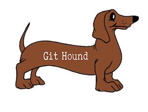 git hound 1 logo