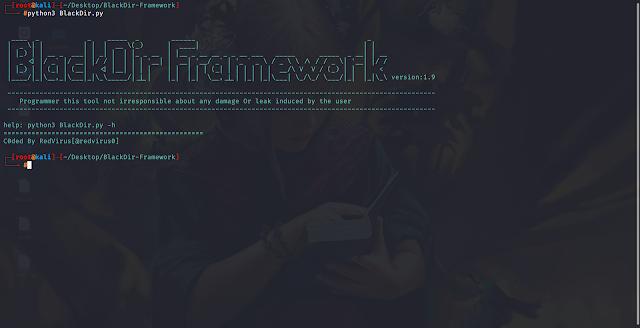 BlackDir Framework 1