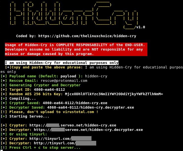 hidden cry 1