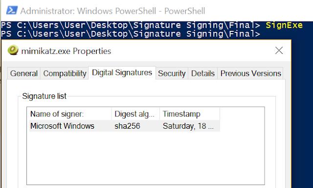 Digital Signature Hijack 1