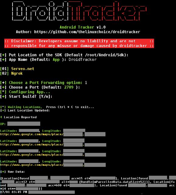 DroidTracker 1