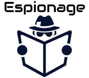 Espionage 1 espionage logo