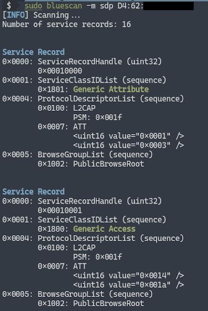 bluescan 3 example sdp scan