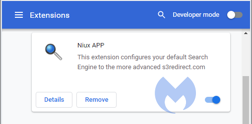 Niux APP extension