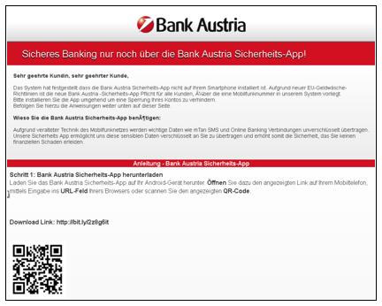 Phishing QR code