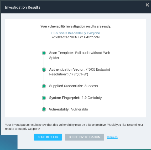 Fewer False Alarms, Faster Reporting: InsightVM Introduces New One-Click Fix For False Positives