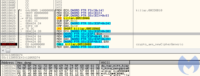 new cipher generic
