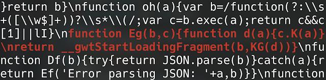 GWT load fragment