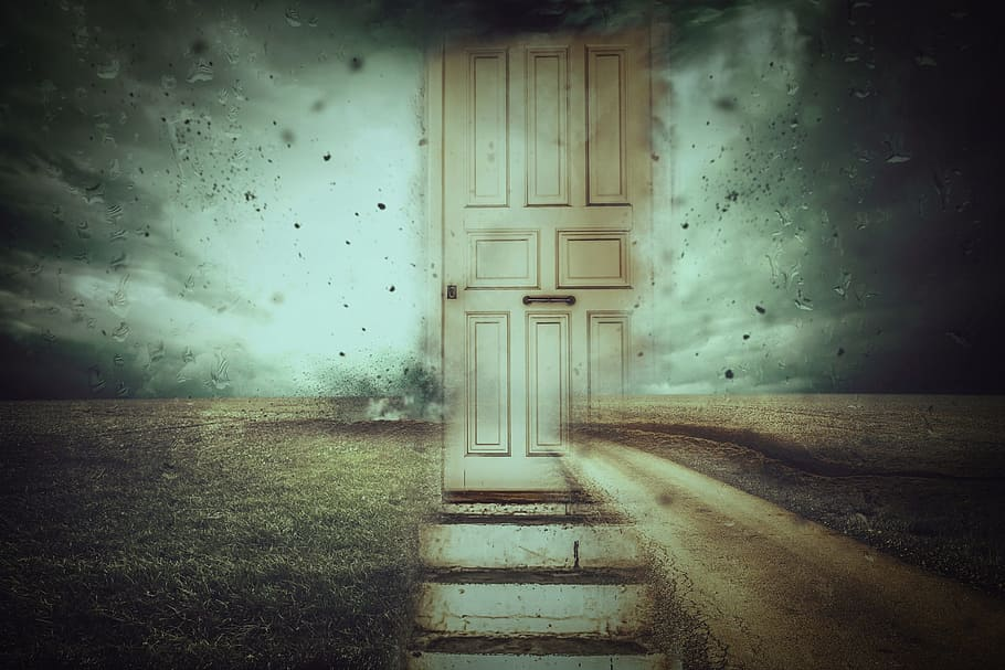 fantasy door surreal