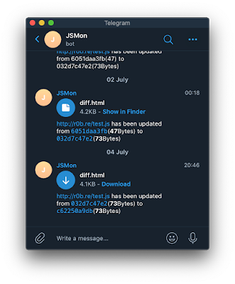 jsmon 1 telegram