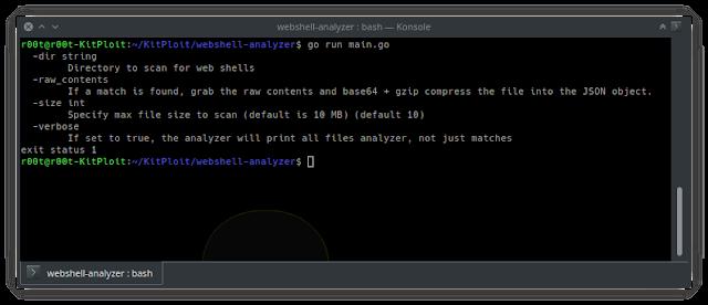 webshell analyzer