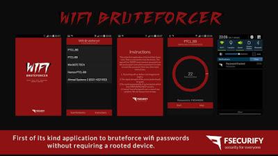 16 wifi bruteforcer