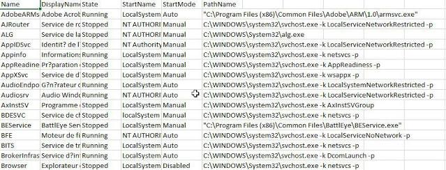 Wynis 11 W9 ListService