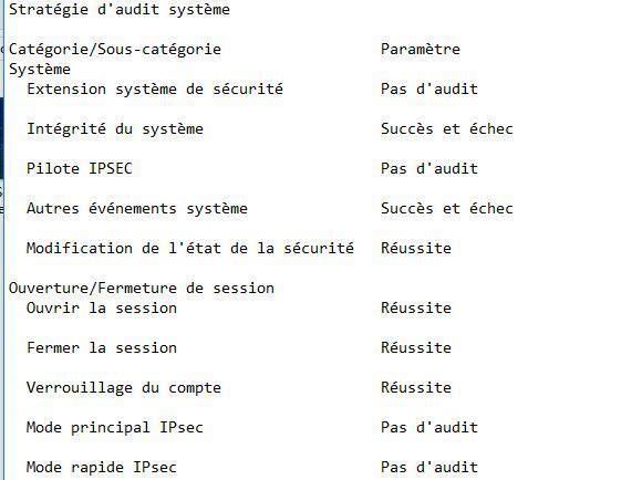 Wynis 6 W5 AuditConfiguration