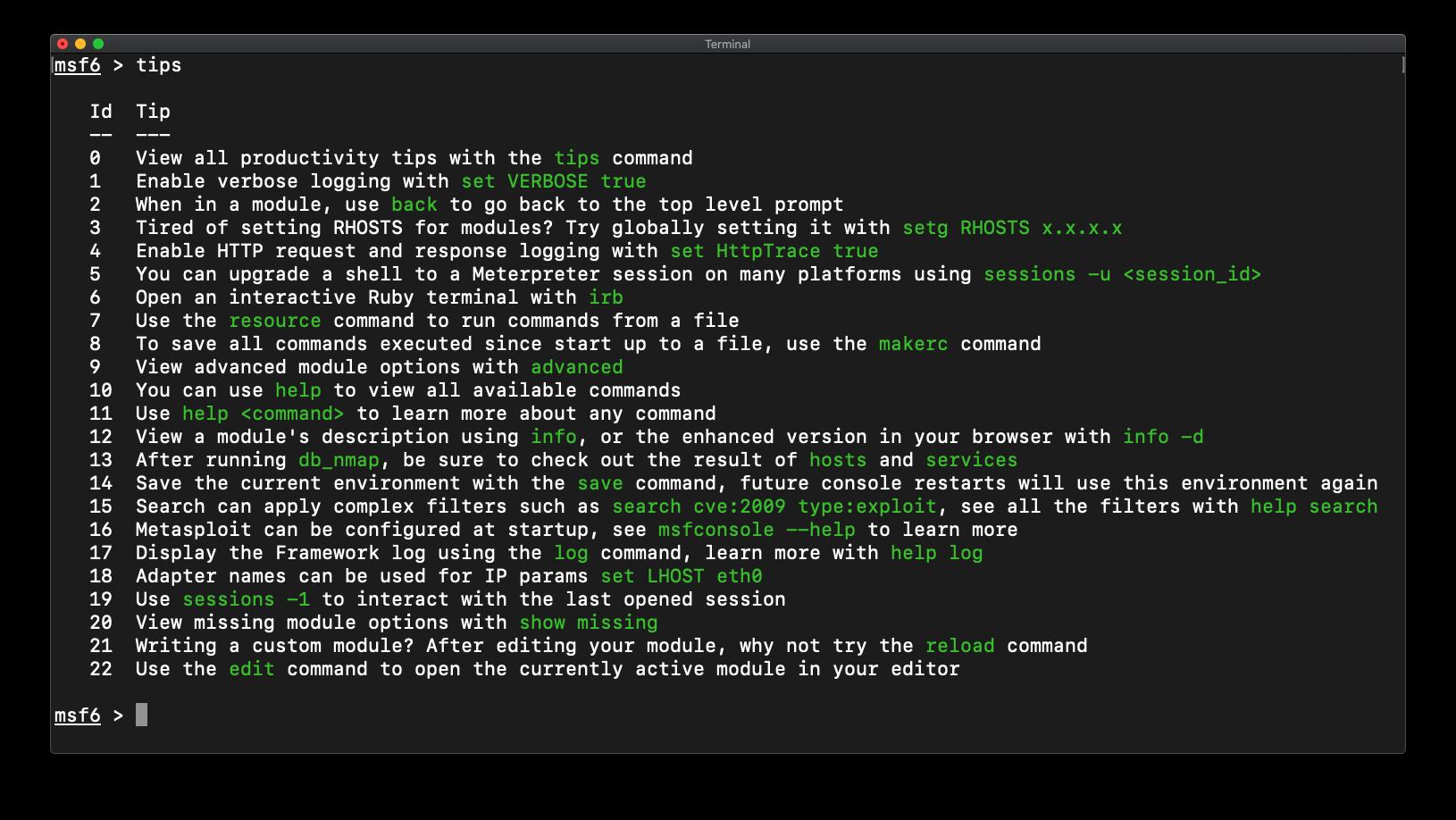 Metasploit Tips and Tricks for HaXmas 2020