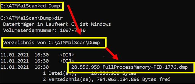 ATMMalScan 4 3 Scan Malware Dump