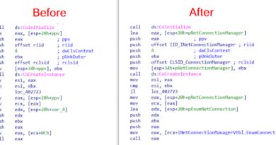 COM Code Helper 1 COM Code Before After 1