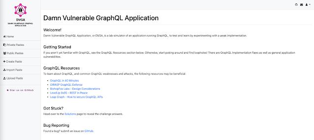 Damn Vulnerable GraphQL