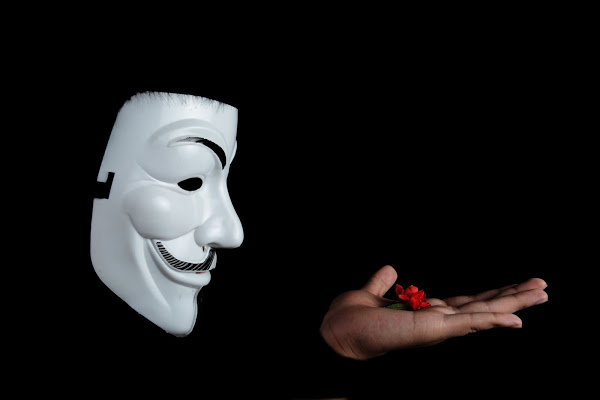 anonymous studio figure photography facial mask 38275