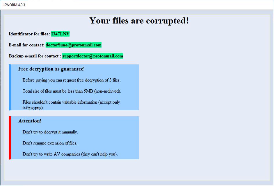 JSworm malware 06