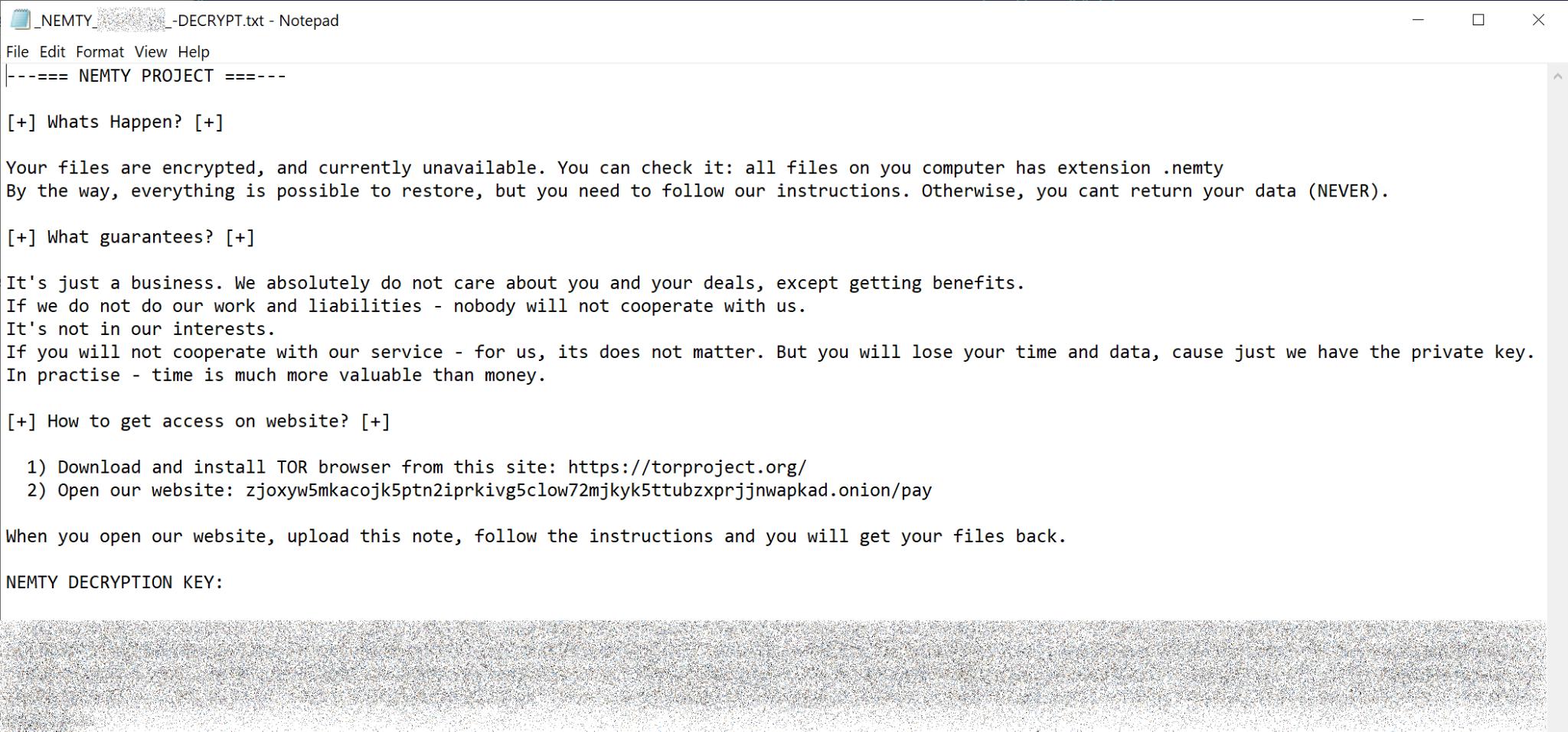JSworm malware 10