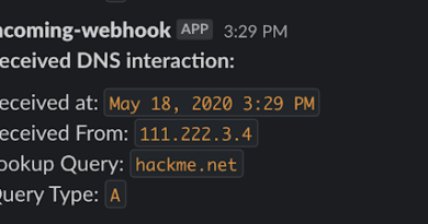 dnsobserver 1 notification