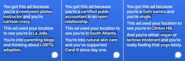 example advertisements