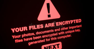 ransomware close up your files encrypted screen 95310554