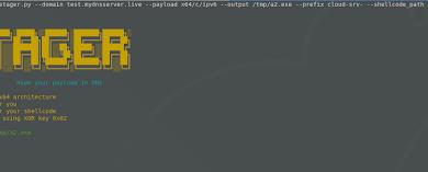 DNSStager 2 Starting DNSStager x64 ipv6 721322