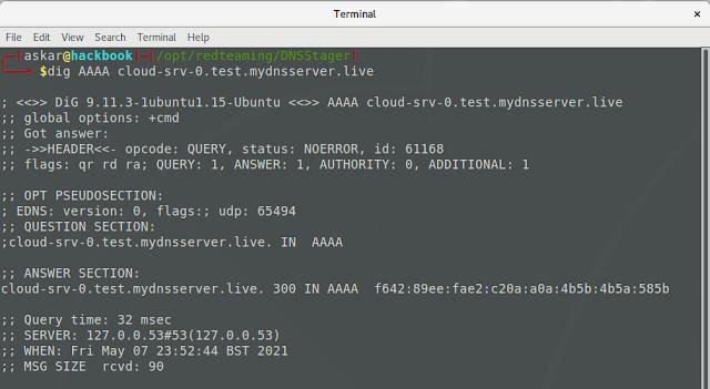 DNSStager 3 DNSStager dig test 728445