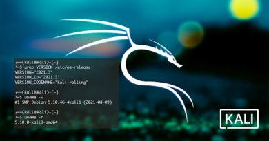 kali linux 2021.3 release