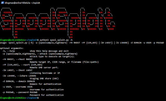 SpoolSploit 1 SpoolSploit Usage